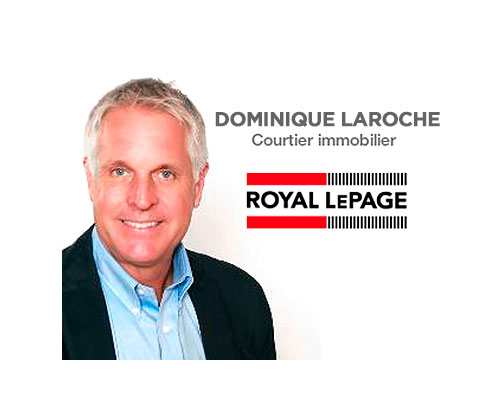 Logo officiel de Dominique Laroche