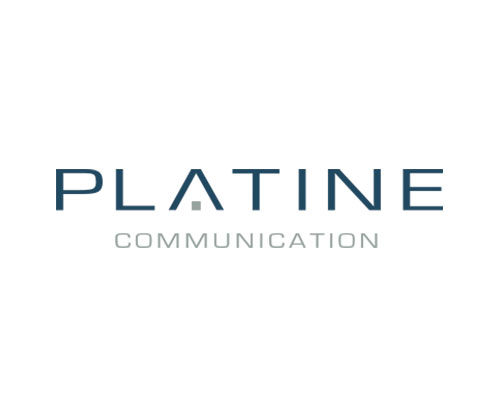 Logo officiel de Platine Communication
