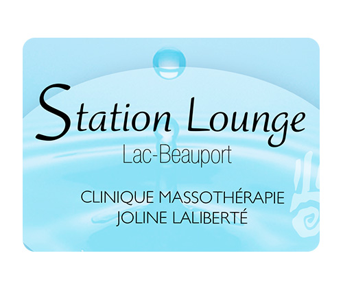 Logo officiel de Station Lounge Lac-Beauport